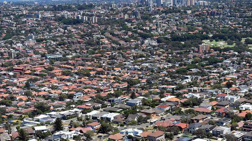 Sydney property stock image