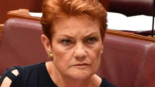 Pauline Hanson blasts ABC 'stitch up' as One Nation turns 20