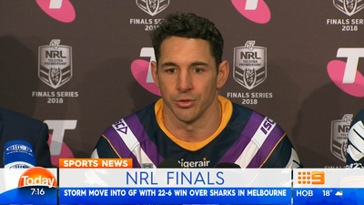 Melbourne Storm's Billy Slater charged by the NRL match review committee for shoulder charge