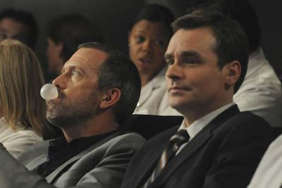 Dr. James Wilson plays Watson to Dr Gregory House's Sherlock. He's managed to cultivate a bromance with someone who many people would (and do) hate. A true bro looks past another's faults/Vicodin habit.