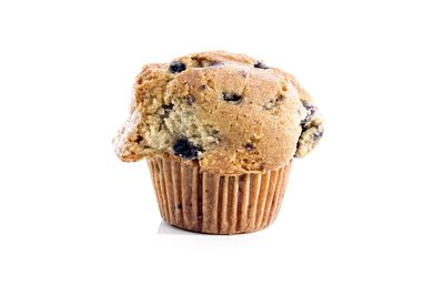 Blueberry muffin: 8 teaspoons of sugar