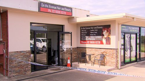 The man stole keys from a hairdresser and attempted to take a car.