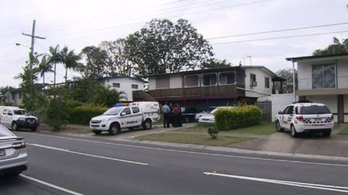 Police were called to the Kingston home. (9NEWS)