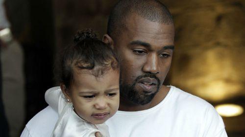 Kim and Kanye in Jerusalem for daughter North's baptism