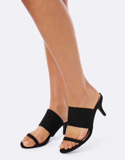 "<a href=""https://www.theiconic.com.au/dawn-2-strap-kitten-heel-mules-534684.html"" target=""_blank"" draggable=""false"">Forever New Dawn 2 Strap Kitten Heel Mules in Black, $69.99</a>"