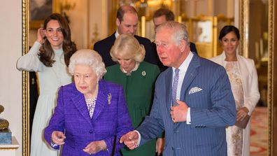 Prince Charles ceremony
