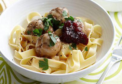 Friday: Swedish meatballs