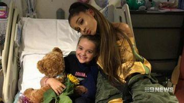 Ariana Grande visits terror attack victims in hospital