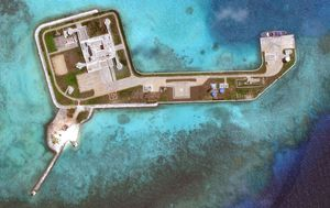 South China Sea Watch: US says Spratly Islands are being 'militarised' as China holds drills amid new tensions